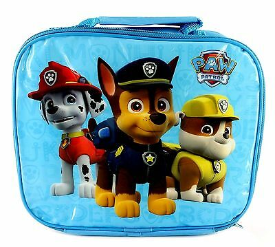 PAW PATROL INSULATED LUNCH BAG BLUE : School /Travel / WH3 651 : NEW LUNCH BAG