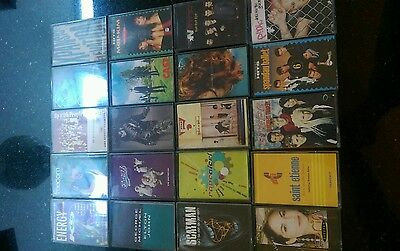 20 Music Cassette Album Tapes Mixed Artistes And Labels