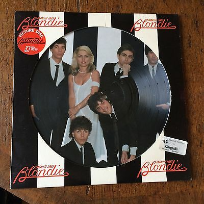 Blondie 12 inch Vinyl LP Parallel Lines Picture Disc Chrysalis