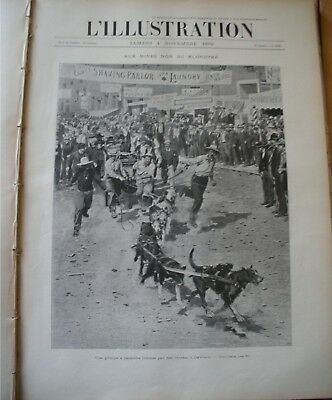 The last months of 1899 French magasine L'ILLUSTRATION,