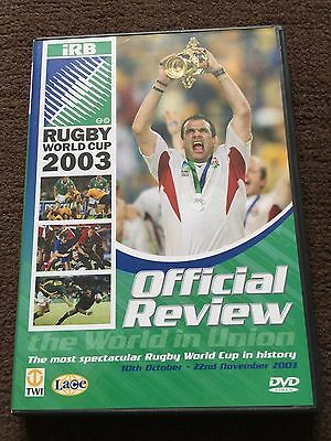 england rugby world cup 2003 DVD