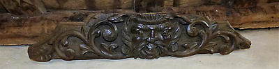 Early 19th Century Oak Grotesque or Green Man Carving