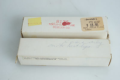 NOS Beseler 45a Enlarger Head Replacement Exposure Flash Tube 8126 + Used SPARE