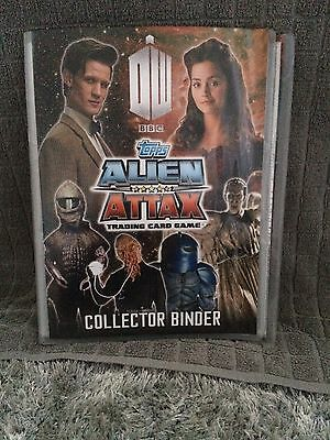 Doctor Who Alien Attax Trading Cards And Binder