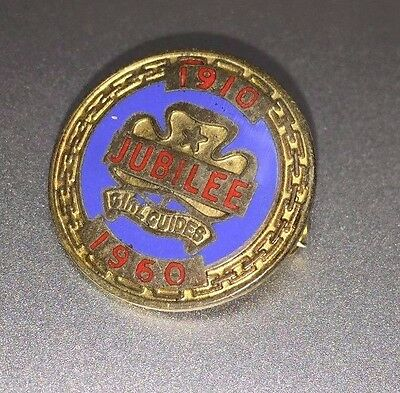 Old  Girl Guides Jubilee pin