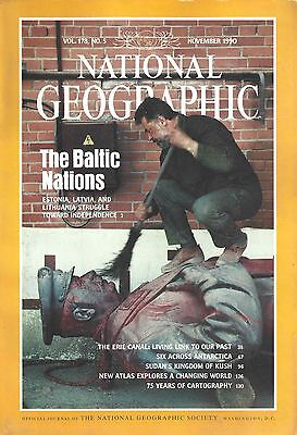 Mint Condition: National Geographic Magazine November 1990 Vol. 178 No. 5