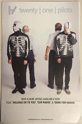 *RARE* Twenty One Pilots Promotional Poster (11 Inches X 17 Inches)