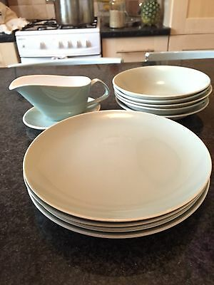 Poole Pottery Cameo Dinner Dining Set Plates