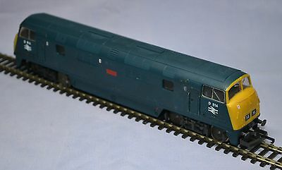 """Lima Warship Class Diesel Loco D814 """"dragon"""" - Br Blue Suit Hornby / Triang Etc"""