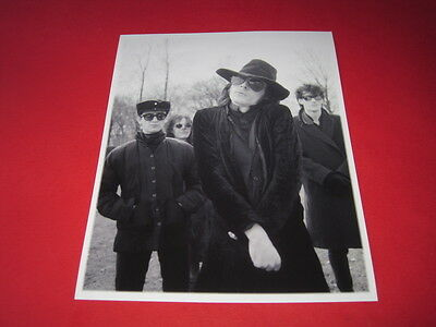 THE SISTERS OF MERCY 10x8  inch lab-printed photo P/8836