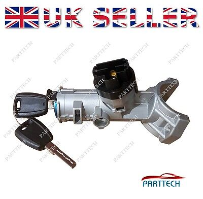 FIAT DUCATO Onwards 2006 IGNITION CYLINDER STARTER with 2 KEYS 5 pin *NEW*