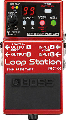 Boss Rc-3 (Rc3) Looper Guitar Effect Pedal - Boxed And In Mint Condition