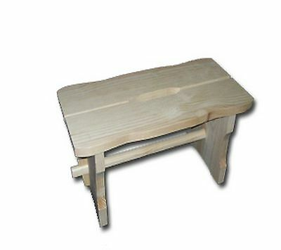 Toddler Wooden Chair/ Kids Stool/ Children Wooden Step /Unpainted Wooden Chair