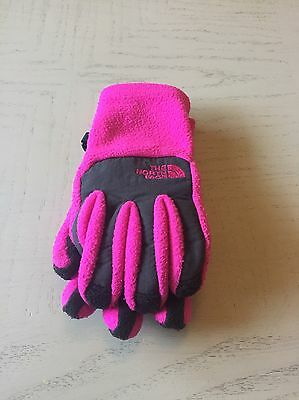 The North Face Pink Kids Gloves Size Small