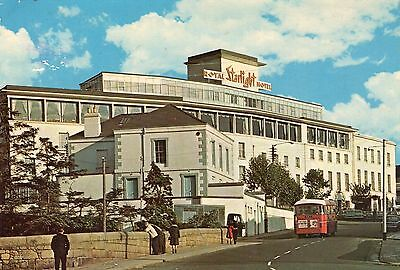 ROYAL STARLIGHT HOTEL BRAY Nr. DUBLIN IRELAND POSTCARD POSTED 1973