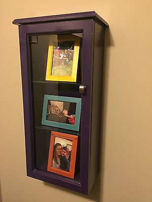 Shadow Box ( Custom Colored With Adjustable Shelves!!!)