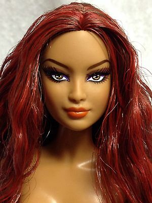 Nude Collector Edition Barbie Doll Goddess Model Muse Exotic Red Head