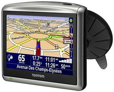 """Gps Tomtom One Xl 4,3"""" Automobile France Europe 2017 A Jour + Radars A Jour"""