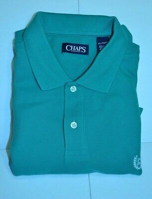 Chaps, NWT, Green S/S XL 100% Cotton