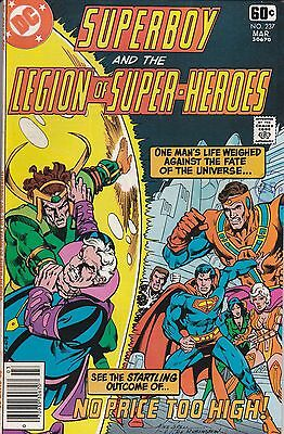 SUPERBOY AND THE LEGION OF SUPER-HEROES (1st Series) #237 DC Comics 1978 GIANT