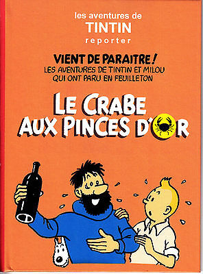 HOMMAGE A HERGE CD AUDIO MP3 Tintin le crabe aux pinces d'or adaptation radio
