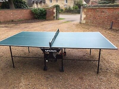 Butterfly 9ft By 5ft Table Tennis Table