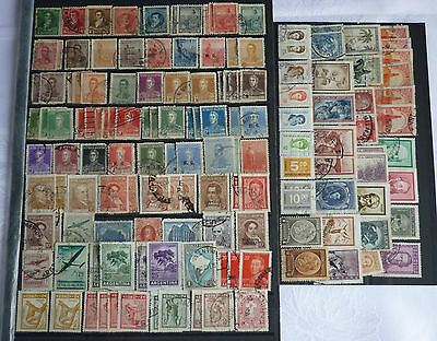 Argentinien Argentina, Lot älterer Werte, Lot of old stamps, s. Scans