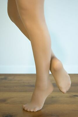 Dance Tights Footed Skintone (Tan) - Sml Ch to XL Adult