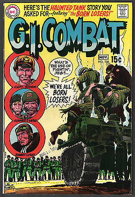 G.I. COMBAT #138 DC War Comic 1969 - First App THE LOSERS - Key Book FINE+