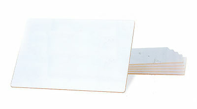 A4 Dry Wipe Whiteboards Pack of 35 Boards New