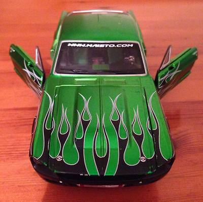 Maisto 1/24 Scale 1967 Ford Mustang GT Racing Green Diecast model car