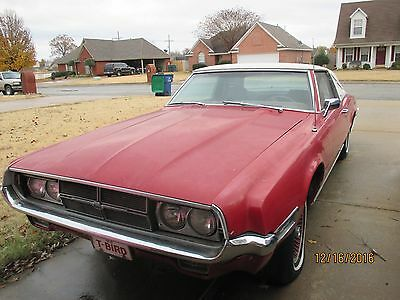 1969 Ford Thunderbird Landau 1969 FORD THUNDERBIRD WITH OEM POWER SUN ROOF ONE OF ABOUT 700 MADE BY FORD