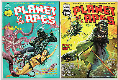 Planet Of The Apes #15 & 16 Nm+ Marvel Comics Lot 1975-76 Escape From