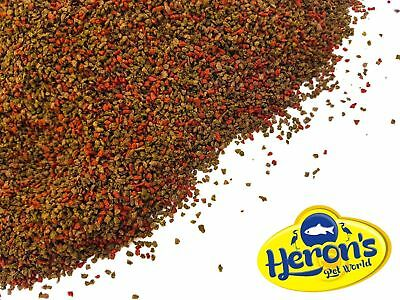 HERONS Premium Multi Granules TROPICAL FISH FOOD Colour Enhancing, Spirulina