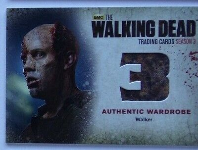 The Walking Dead season 3  wardrobe card