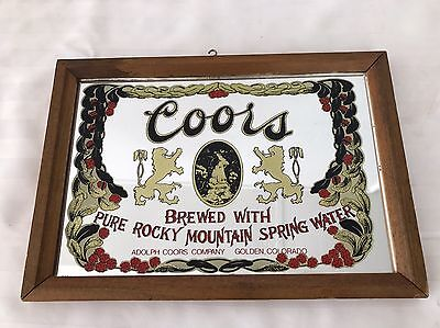 Smaller COORS Mirror/sign 13 X 9