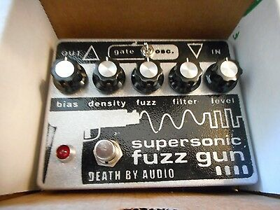 Death By Audio Supersonic Fuzz Gun Pedal Guitar Effects Pedal