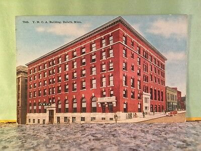 Postcard Y.m.c.a Hotel And Building, Duluth Minnesota