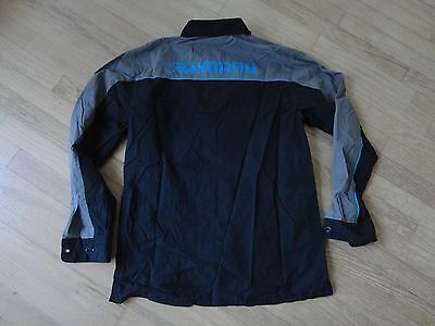 Shimano Cycling Team Button Up Shirt - Size Large