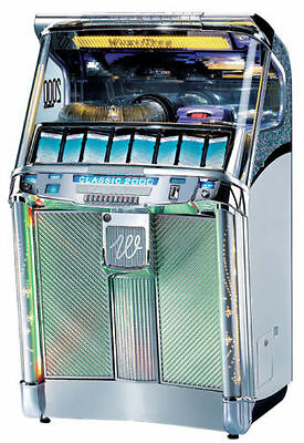 WURLITZER Classic 2000 CD Jukebox - AS NEW MINT Condition - Less than 3 yrs old