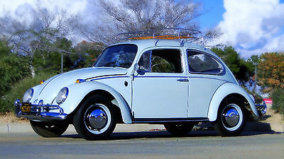 1966 Volkswagen TYPE 1 SEDAN FREE SHIPPING WITH BUY IT NOW!! 1966 VOLKSWAGEN TYPE 1 BUG,CALIFORNIA CAR WITH ORIG CALIF BLACK PLATES