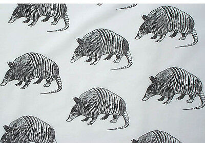 Armadillo Fabric all Cotton Hot Diggity Dog Fabrics by the yard