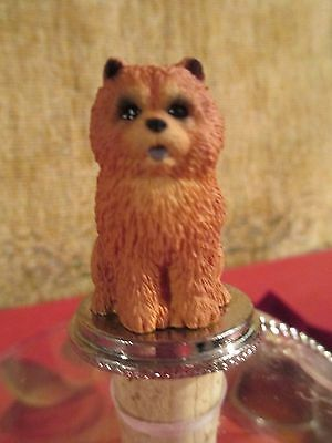 Chow Chow Red Wine  Stopper