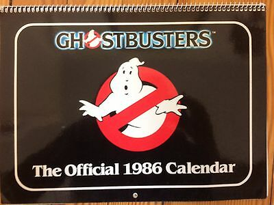 Ghostbusters Official 1986 Calendar Vintage Never Used