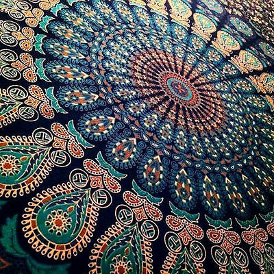 Indian Mandala Tapestry Hippie Wall Hanging Bohemian Tapestries Dorm Decor Throw