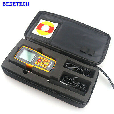 GM8903 30m/s Digital Anemometer Air Thermometer 0~45C Wind Speed Air Flow Tester
