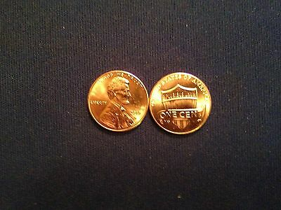 2010D Lincoln Shield Cent - One (1) Penny - Uncirculated coin - BU