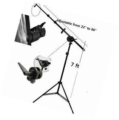 CanadianStudio New Photo Reflector Arm Stand Reflector Stand Holder Boom Arm kit