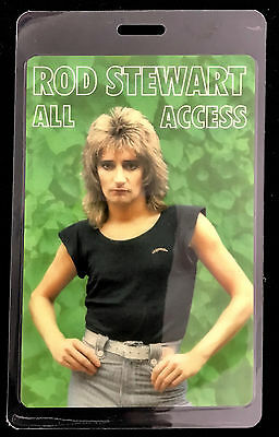 Rod Stewart - All Access Tour Laminate Backstage Pass - LAST ONE!!!