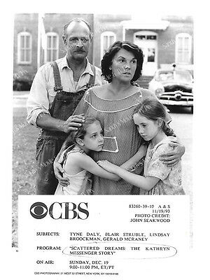 TYNE DALY, GERALD McRANEY Terrific ORIGINAL TV Photo SCATTERED DREAMS...